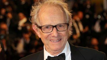 Ken Loach à la présentation de son film à Cannes
