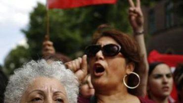 """""""Taksim, c'est partout"""", clamaient les manifestants."""