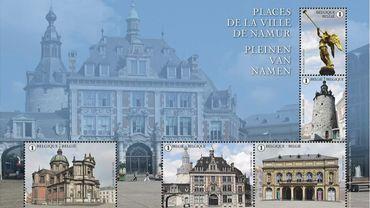 Un nouveau feuillet de timbres namurois pour le plaisir des philatélistes et amoureux de Namur
