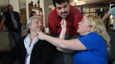 Thierry Bellefroid, Michel Dufranne et Julie Huon