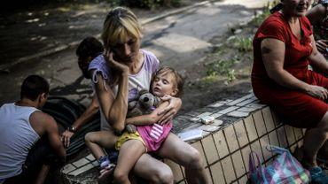 """""""730 000 Ukrainiens"""" ont fui en Russie, crainte d'un exode massif"""