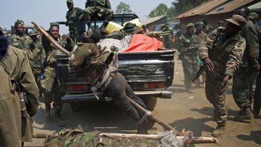 Le M23, touché par les tirs de l'armée