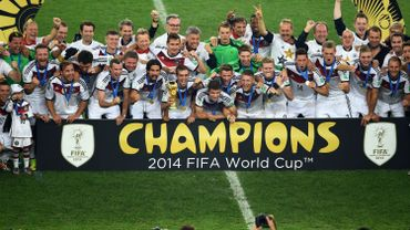 L'Allemagne au sommet du football mondial
