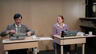 Nicolas Luçon et Julie Deroisin dans les Dactylos Le Tigre de Murray Schisgal