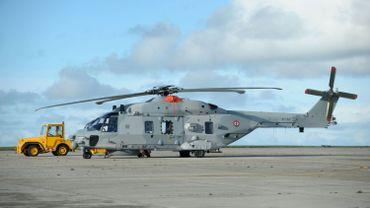 """Un hélicoptère NH90 version """"marine"""""""