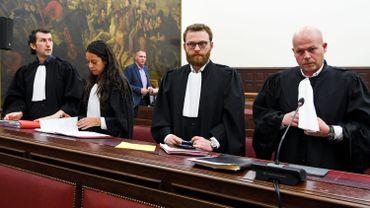 De gauche à droite : Isa Gultaslar, Laura Severin, Romain Delcoigne et Sven Mary.