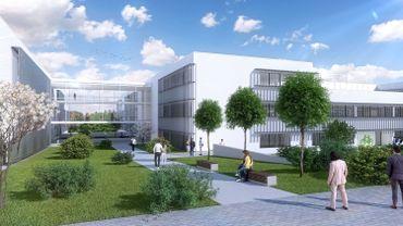 La future zone d'activités liées à la santé sur le site du Mont Légia