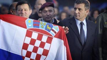 Ante Gotovina reçoit un accueil triomphal à son retour en Croatie