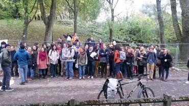 Les opposants au projet Universalis Park