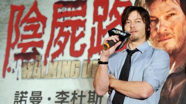 """Norman Reedus incarne Daryl Dixon dans """"The Walking Dead"""" dont la saison 4 vient de s'achever aux États-Unis"""