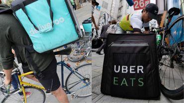 Deliveroo pourrait être repris par Uber, des discussions sont en cours