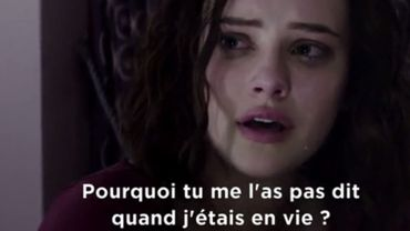 "Un extrait de ""13 reasons why"""