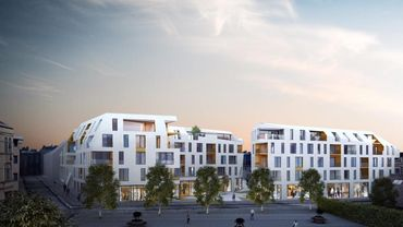 Buildingnest propose d'y construire un ensemble de quatre immeubles de 93 appartements.