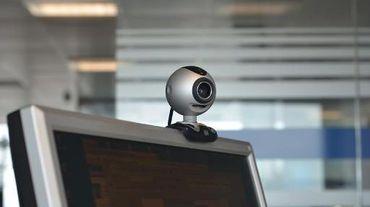 Une webcam