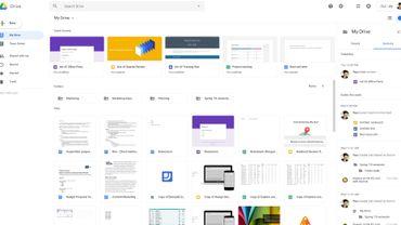 Le nouveau visage de Google Drive