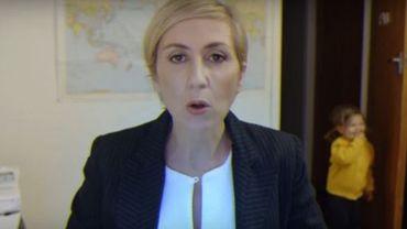Si l'expert de la BBC interrompu par ses enfants avait été une femme