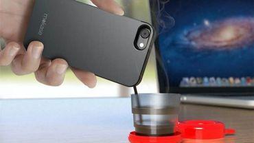Et finalement, un smartphone fait le café