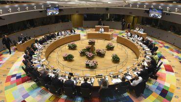 La salle du conseil européen