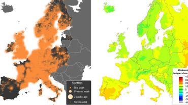Aperçu des cartes interactives qui traceront les déplacements des oiseaux migrateurs.