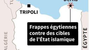 Frappes aériennes de l'Egypte en Libye