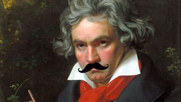 Les 4 barbus et Beethoven: Osez la moustache