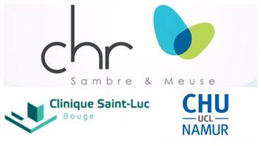 CHU UCL Namur, CHR Sambre et Meuse et Saint-Luc Bouge ne feront bientôt plus qu'un.