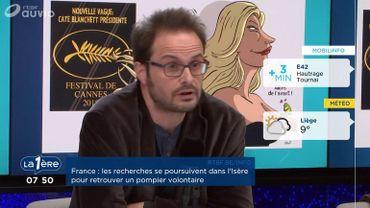 """Nicolas Vadot: """"C'est le sexisme religieux qui m'effraie, plus que le terrorisme"""""""