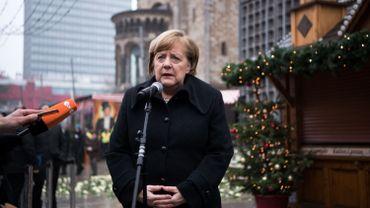 Angela Merkel rend hommage aux victimes