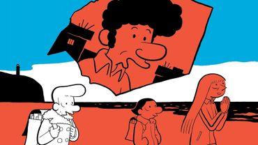 """L'auteur de bande dessinée Riad Sattouf raconte dans """"L'Arabe du futur 5"""" la naissance de sa vocation, et rend hommage aux enseignants qui ont cru en lui."""