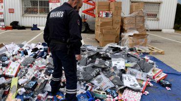 Le nombre de biens de contrefaçon saisis a triplé l'an dernier