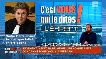 Condamné pour viol par webcam... Un jugement inédit en Belgique !