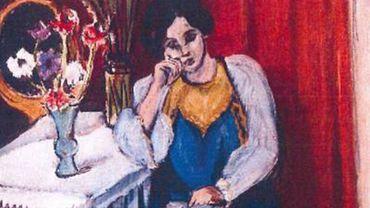 La Liseuse en Blanc et Jaune, Henri Matisse, dérobé le 16 octobre 2012 au Kunsthal.