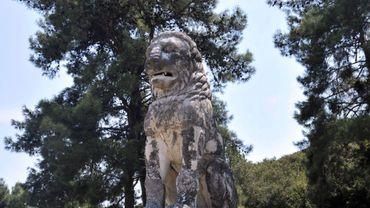 """Le """"Lion d'Amphipolis"""""""