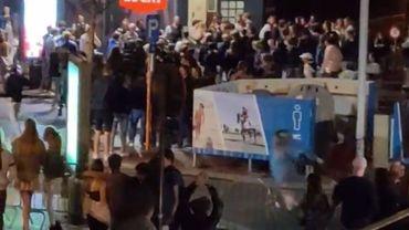 Forte présence policière à Knokke: encore deux arrestations de fêtards mineurs