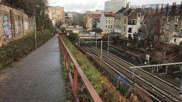 Tronçon entre la gare du Germoir et la gare du Luxembourg