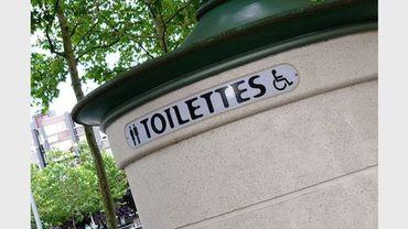Le réseau de toilettes publiques de la ville de Bruxelles sera étoffé d'ici 2022