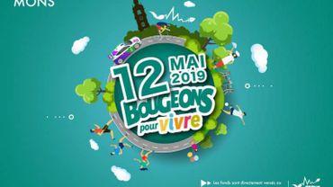 3ème édition de Bougeons pour Vivre ce dimanche à Mons