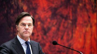 Pays-Bas: le Premier ministre Mark Rutte dans la tourmente