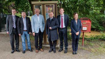 La dernière cabine téléphonique de Belgique a été démontée