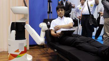 Toute l'industrie travaille sur les robots: ici un modèle développé par Toyota
