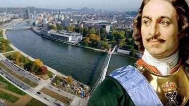 Une récolte de fonds pour une statue de l'Empereur de Russie Pierre le Grand à Liège