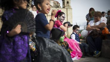 Le jour des morts à Oaxaca au Mexique