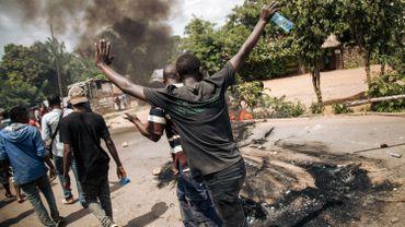 Plusieurs centaines de personnes sont descendues dans la rue à Beni pour manifester leur mécontentement.