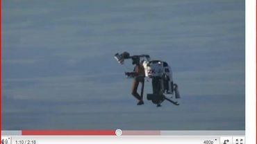 Le jetpack de Glenn Martin, un rêve d'inventeur devenu réalité