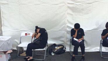 En Chine, dormir au travail est un droit constitutionnel.