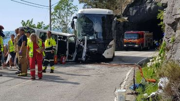 Trois Belges sont dans un état critique après un accident en Norvège