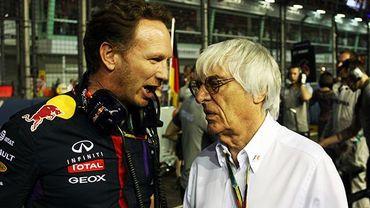 Ecclestone menace Red Bull