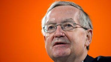 Patrick Artus, économiste considéré comme libéral de la banque Natixis, le 16 janvier 2012 à Paris