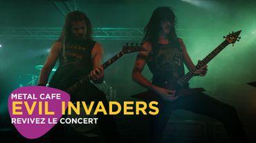 Metal Café: le concert d'Evil Invaders dans Classic 21 Metal