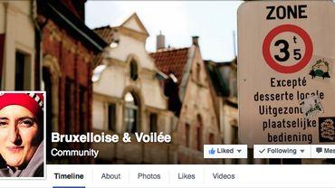 Page Facebook Bruxelloise et voilée